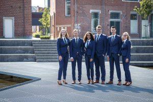 Bestuursfoto Universiteit Twente studievereniging Sirius