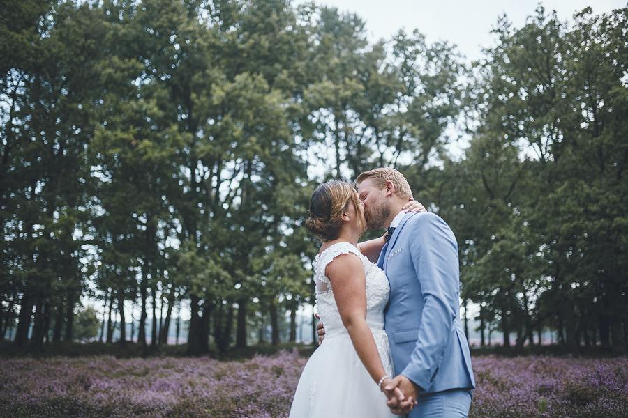 Bruidsfotograaf Apeldoorn Hilversum heide Veluwe