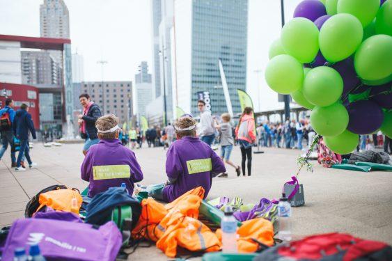 TBI maak de toekomst tijdens Marathon Rotterdam 2019