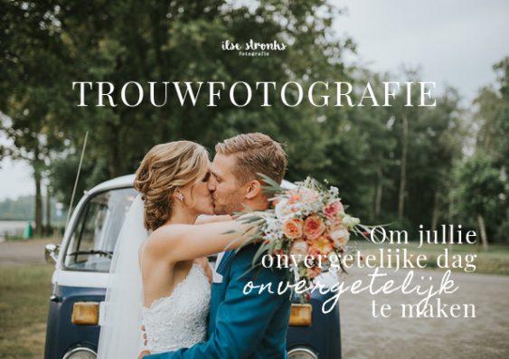 Brochure trouwfotografie Ilse Stronks fotografie fotograaf Apeldoorn