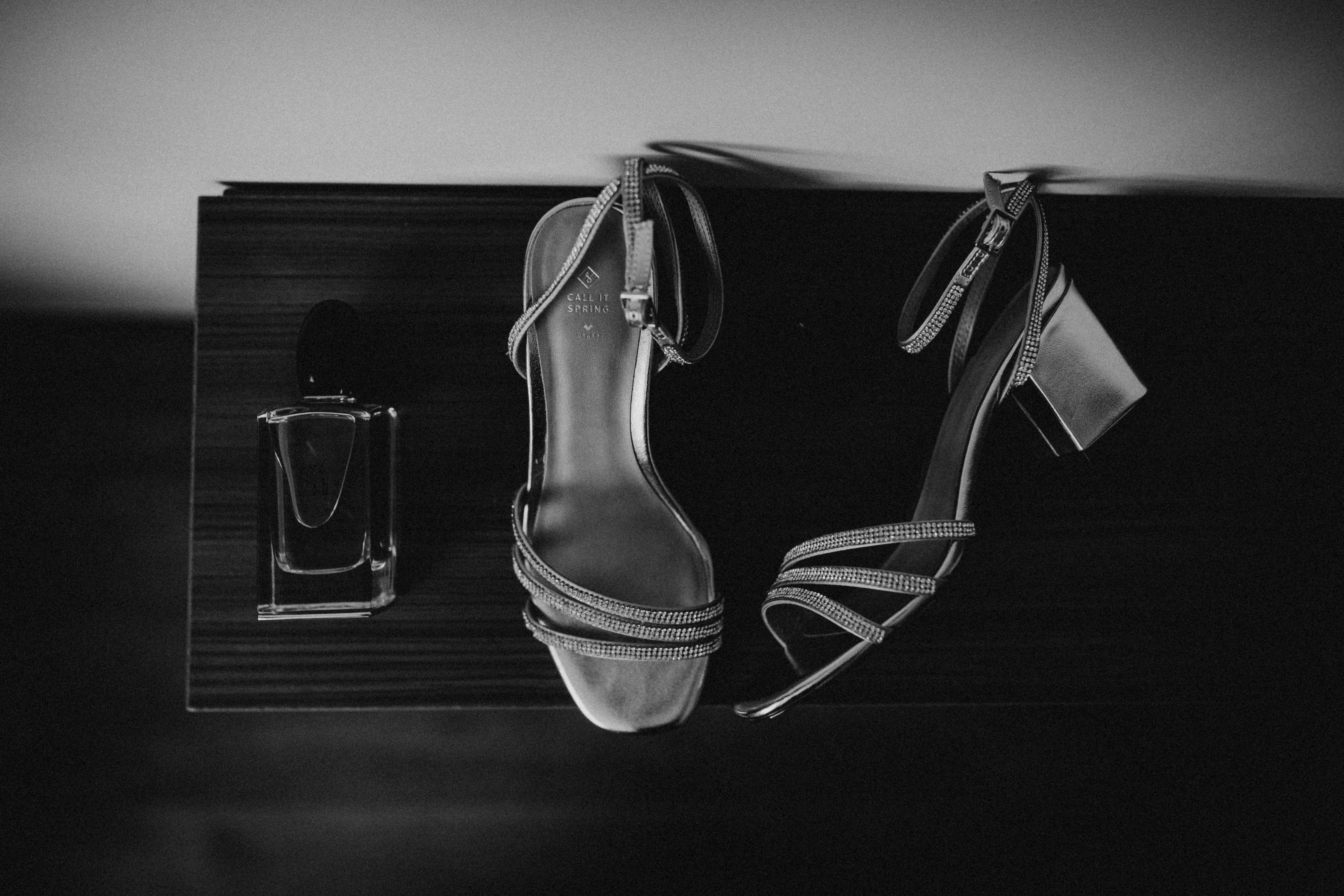 Detailfoto's schoenen bruiloft online cursus voor trouwfotografen