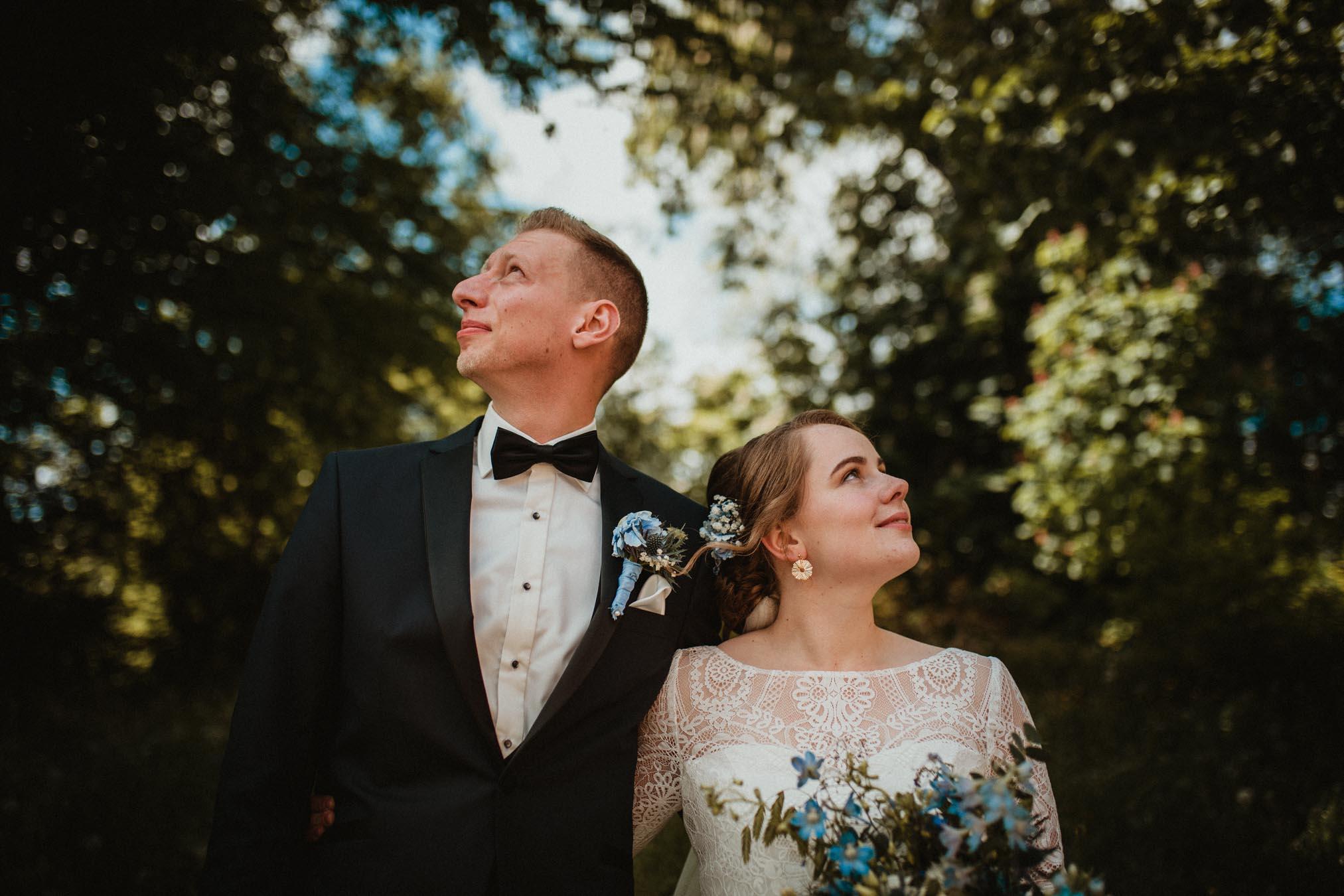 Spontane trouwfotografie in Kampen door trouwfotograaf uit Apeldoorn
